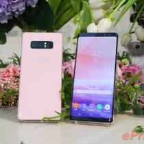Galaxy Note 8 có thêm bản màu hồng, giá hơn 1.000 USD