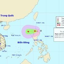 Áp thấp nhiệt đới hình thành gần Biển Đông