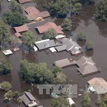 """Đổ bộ vào Texas, ước tính siêu bão Harvey """"cuốn bay"""" 180 tỷ USD"""