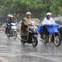Bắc Bộ mưa rào rải rác, Trung Bộ, Nam Bộ nắng nóng