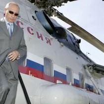 Phi đội trực thăng chuyên phục vụ Tổng thống Putin