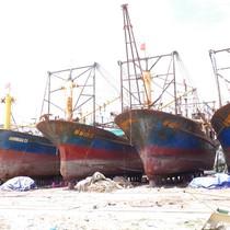 """Ngư dân buộc phải chấp nhận sơn sửa lại tàu vỏ thép """"dỏm"""""""