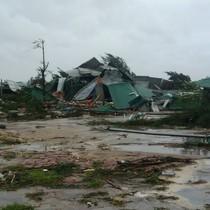 Trung Bộ mưa giảm dần sau khi bão số 10 đi qua