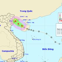 Áp thấp nhiệt đới đã tiến sát Quảng Ninh - Hải Phòng