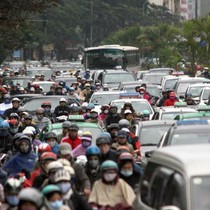 Sau TP.HCM, Hà Nội cũng tính chuyện thu phí phương tiện vào nội đô
