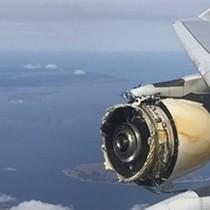 Một động cơ tróc vỏ, siêu phi cơ Pháp chở 520 người hạ cánh khẩn