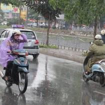 Thời tiết hôm nay 5/10: Bắc Bộ, Trung Bộ mưa rào và dông vài nơi