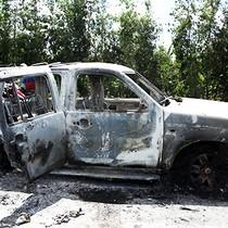 Sáu nghi can phóng hỏa ô tô chở giám đốc bị bắt