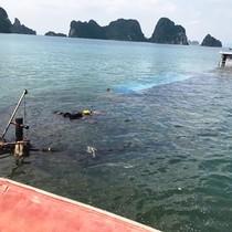 Tai nạn liên hoàn trên biển, sà lan chở hơn 1.300 tấn than bị chìm