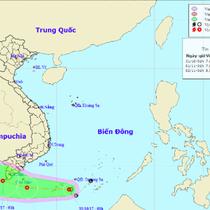 Ảnh hưởng từ áp thấp nhiệt đới, Nam Bộ có mưa lớn