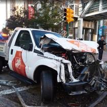 """""""Khủng bố xe điên"""" giữa lòng New York làm 8 người chết"""
