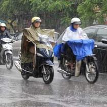 Thời tiết hôm nay 5/11: Mưa dông phủ kín cả nước
