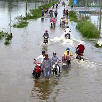 Bắc Bộ nhiệt độ ấm lên, thấp nhất 19 độ C, mưa vẫn to từ Hà Tĩnh tới Quảng Ngãi
