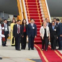 Tổng thống Cộng hòa Chile bắt đầu thăm cấp Nhà nước tới Việt Nam