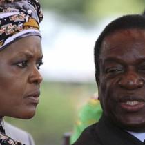 """Cuộc đấu giữa """"quý bà hàng hiệu"""" và phó tổng thống """"cá sấu"""" ở Zimbabwe"""