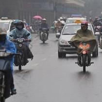 Không khí lạnh tràn về, Bắc Bộ mưa rét từ trưa và chiều nay