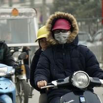 Không khí lạnh gây mưa rét ở Bắc Bộ, vùng núi cao nhiệt độ xuống dưới 10 độ C