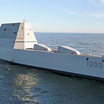Tàu khu trục Zumwalt có thể lột xác thành sát thủ diệt hạm