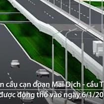 [Video] Hà Nội xây cầu cạn hơn 5.000 tỷ đồng