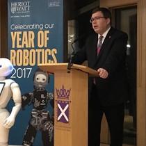 Robot bị siêu thị sa thải