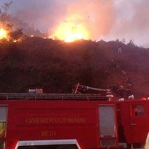 Dân đốt vàng mã gây cháy rừng ở Hải Phòng