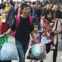 Hãi hùng cảnh tắc nghẽn giao thông kéo dài sau tết tại Trung Quốc