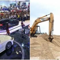 Thị trường 24h: Chi tỷ USD mua xe sang nhập khẩu, cát xây dựng tại TP.HCM tăng giá gấp đôi