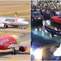 Thị trường tuần qua: Tranh cãi vụ áp sàn vé máy bay, đua nhau giảm giá ô tô