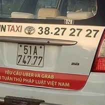 Vụ Vinasun dán khẩu hiệu đối đầu Uber, Grab: Vi phạm Luật Cạnh tranh?