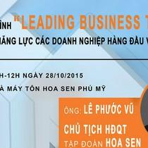 Leading Business Tour: Khám phá năng lực doanh nghiệp hàng đầu Việt Nam