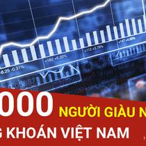 Danh sách 10.000 người giàu nhất trên sàn chứng khoán Việt Nam