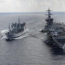Tàu Trung Quốc bám sát nhóm tàu sân bay Mỹ Stennis trên Biển Đông