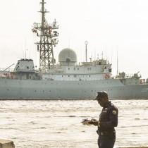 """Tàu trinh thám điện tử Nga """"Victor Leonov"""" làm gì ngoài khơi bờ biển phía đông Hoa Kỳ?"""