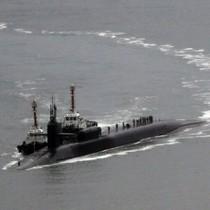 Tàu ngầm hạt nhân có 154 tên lửa Tomahawk của Mỹ đã đến Hàn Quốc