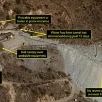 Triều Tiên: Lại có những dấu hiệu hoạt động tại bãi thử hạt nhân
