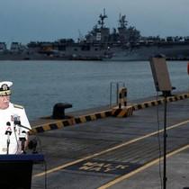 Trung Quốc bị nghi đứng sau tai nạn tàu chiến Mỹ ở Singapore