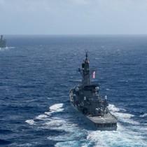Nhật-Mỹ tập trận hải quân gần bán đảo Triều Tiên