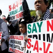Indonesia, Malaysia đả kích quyết định của ông Trump về Jerusalem