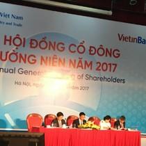 ĐHĐCĐ Vietinbank: Mục tiêu lợi nhuận 8.800 tỷ đồng, cổ tức 5-7%