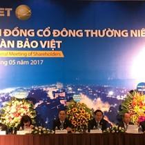 ĐHĐCĐ Bảo Việt: Chia cổ tức 10% năm 2016, tiếp tục kế hoạch tăng vốn qua ESOP