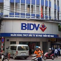 BIDV: NIM năm 2017 có thể giảm vì tái cấu trúc tài sản