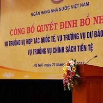 Sếp Vietcombank lên làm Vụ trưởng Vụ Chính sách Tiền tệ