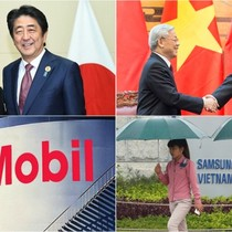[Round-up] Shinzo Abe Starts Vietnam Visit, ExxonMobil Enters Gas Deal