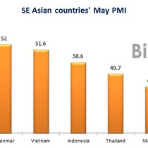 Vietnam's Manufacturing PMI Loses Top Position in SE Asia