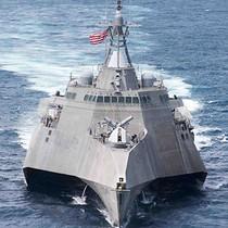 Tàu Mỹ lại cập cảng Cam Ranh