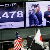 [Chart] Vụ thử hạt nhân của Triều Tiên tác động lên thị trường tài chính ra sao?