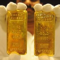 Giá vàng đứt chuỗi tăng 3 phiên