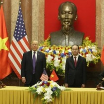"Vietnam, U.S. Firms Ink $12-Billion Deals as President Trump Drums up ""America First"""