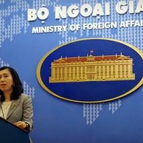 Người phát ngôn: Việt Nam phản đối quy chế của Trung Quốc về đánh bắt cá tại Biển Đông