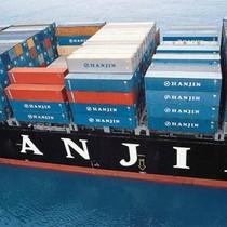 Hàng trăm container hàng Việt lênh đênh trên tàu Hanjin